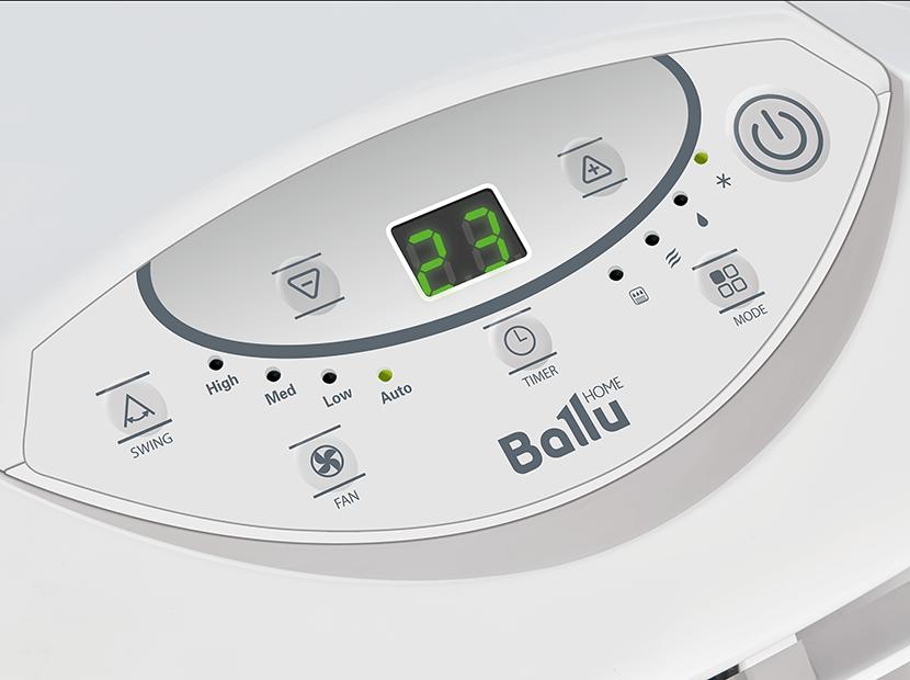 Мобильный кондиционер Ballu BPAC-15 CE SMART PRO 40кв2