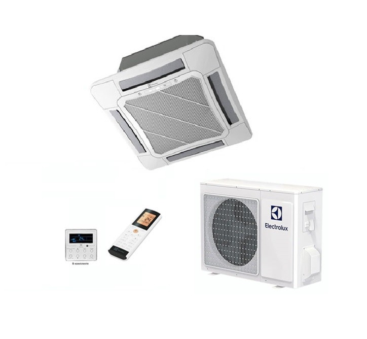 Кассетная сплит-система Electrolux EACС-24H/UP2/N3 + панель + EACO-24H/UP2/N3_LAK Invertor