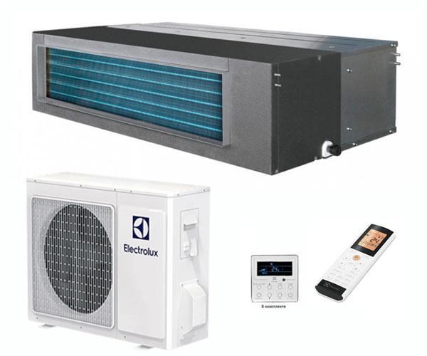 Канальная сплит-система ELECTROIUX  EACD-18H/UP2/N3 + EACO-18H/UP2/N3_LAK Invertor