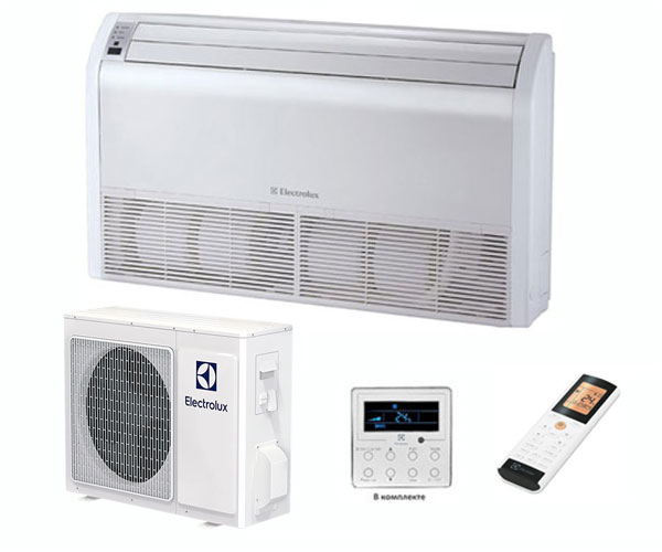 Кассетная сплит-система Electrolux EACС-18H/UP2/N3 + панель + EACO-18H/UP2/N3_LAK Invertor
