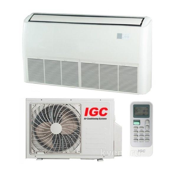 Сплит-система напольно-потолочного типа IGC  IFХ-12H/U