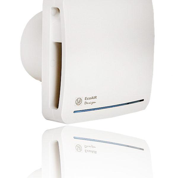Бытовые вытяжные вентиляторы  ECOAIR SLC