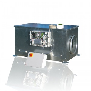 Компактные приточные установки CAIB-08/250 BRM PRO-REG с электродвигателями постоянного тока (S&P)