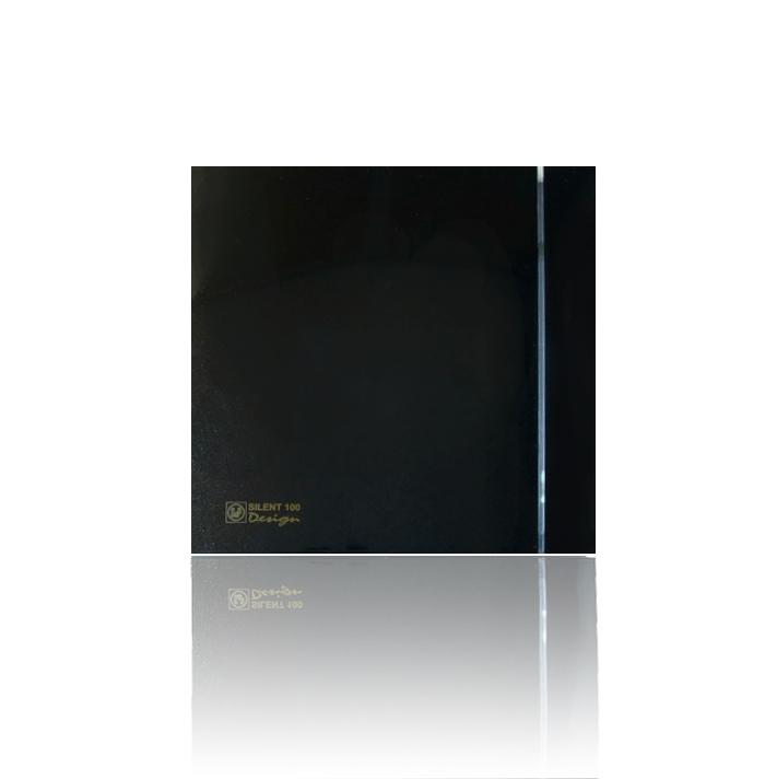 Бытовые вытяжные вентиляторы  SILENT-100CRZ BLACK DESIGN-4C S&P (Испания)