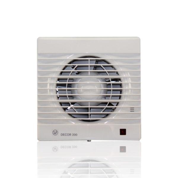 Бытовые вытяжные вентиляторы DECOR-100CD