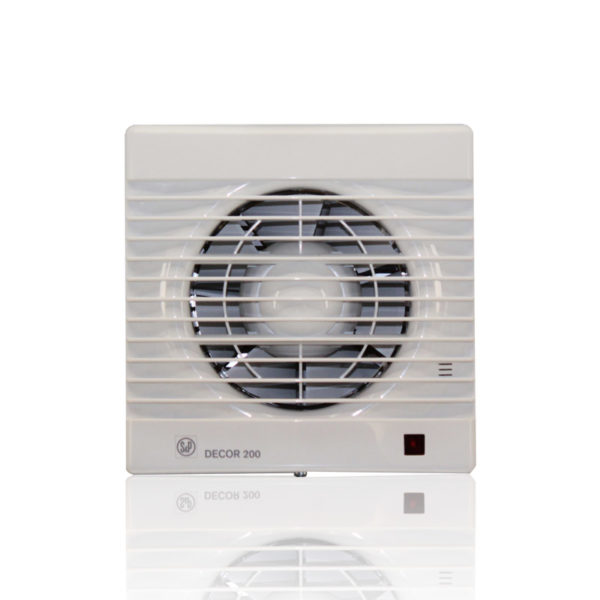 Бытовые вытяжные вентиляторы DECOR-100С