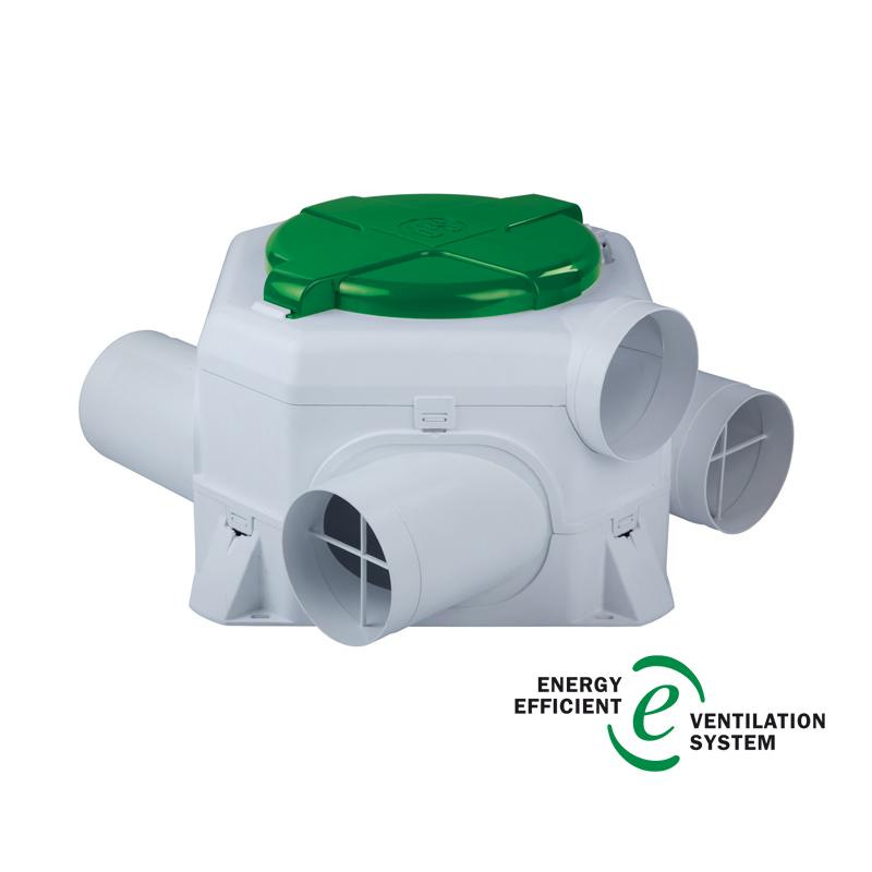 Мультизональные вытяжные вентиляторы OZEO-E 2 ECOWATT