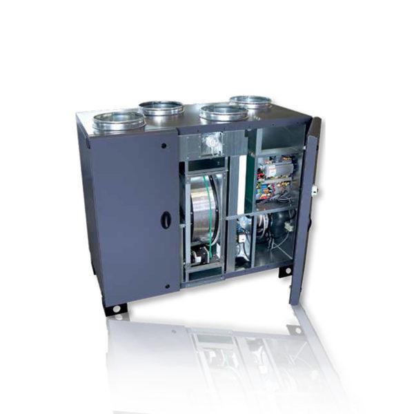 Вентиляционные установки с роторным рекуператором тепла RHE 1300 VD DC