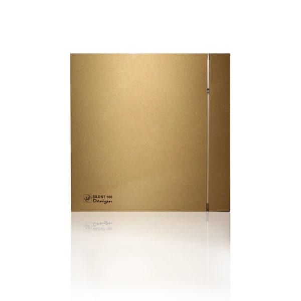 Бытовые вытяжные вентиляторы  SILENT-100CRZ  GOLD DESIGN-4C S&P (Испания)